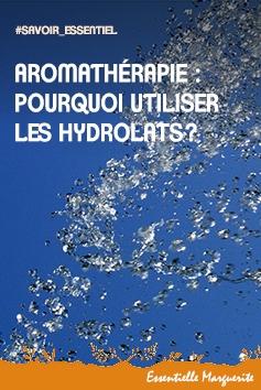 Aromathérapie : les hydrolats
