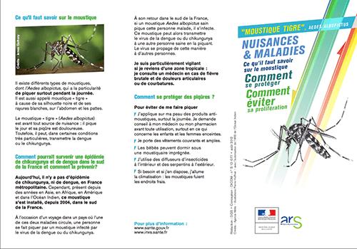 Dépliant ARS-moustiques