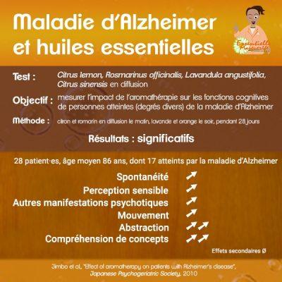Alzheimer et huiles essentielles
