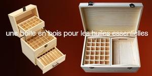 Boîtes huiles essentielles