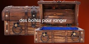 Produits naturels : des boîtes de rangement