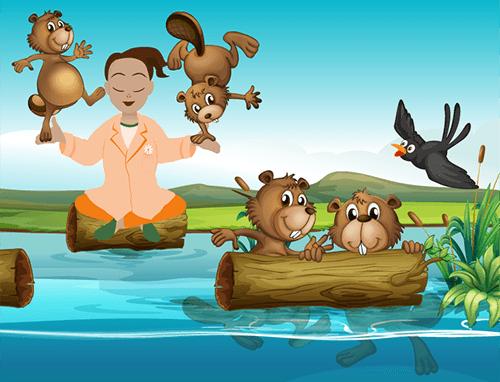 Marguerite et les castors