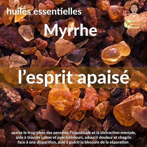 Myrrhe énergétique