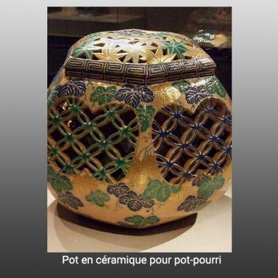 Céramique pot pourri