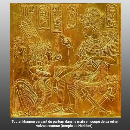 Toutankhamon et Ankhesenamun