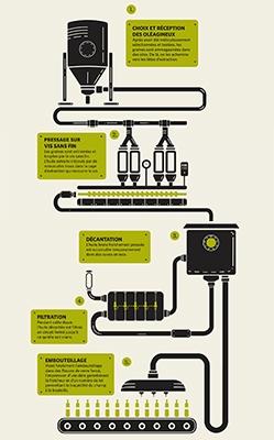 Processus d'obtention d'une huile