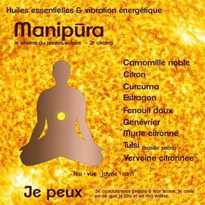 Chakras et huiles essentielles : manipura