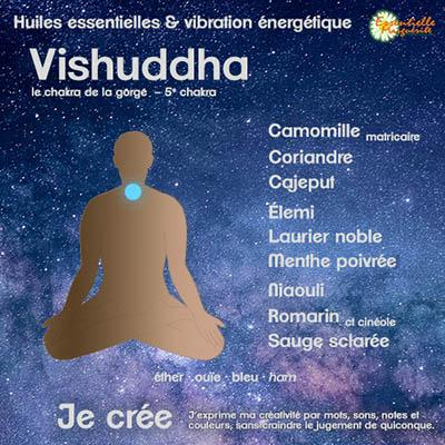 Chakras et huiles essentielles : vishuddha