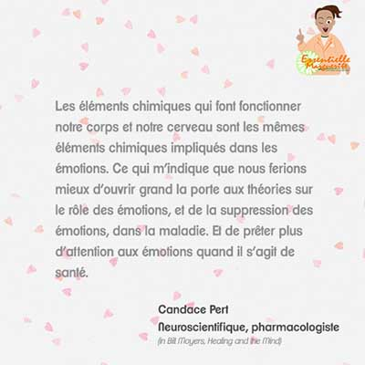 Chimie des émotions –Candace Pert