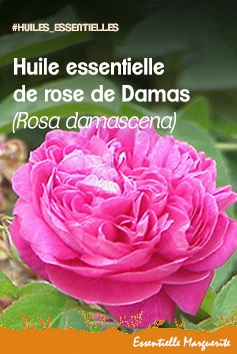 Huile essentielle rose de Damas
